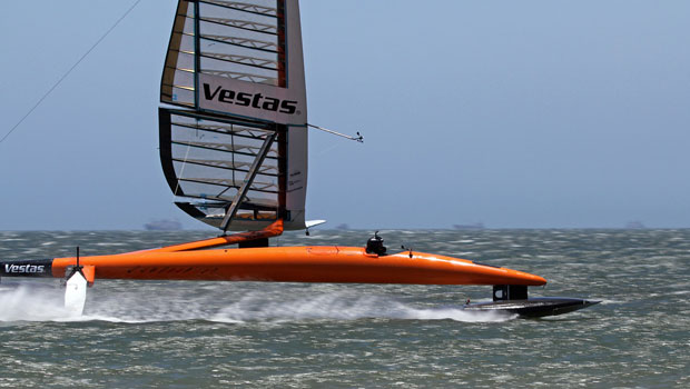 Vestas SailRocket 2 – Outright world speed sailing record holder